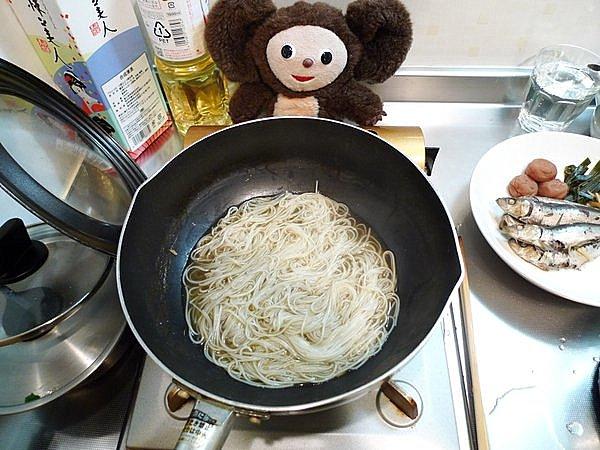 檀流イワシの煮付け作り方(3)