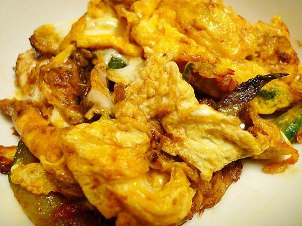 きゅうりのピリ辛卵炒め