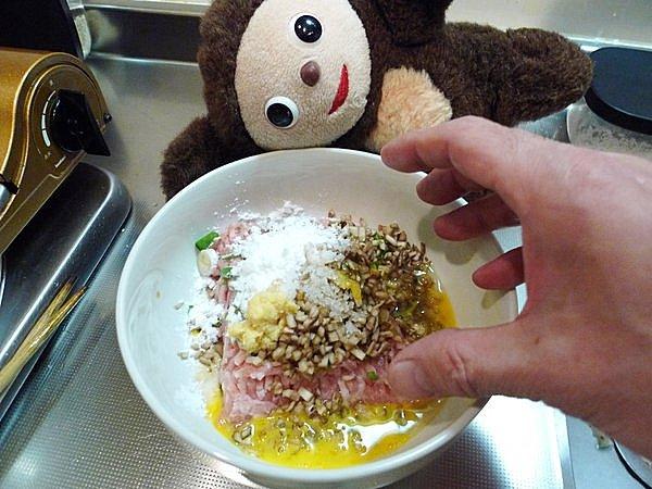 鶏つみねと野菜のあんかけ作り方1