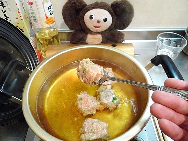 鶏つみねと野菜のあんかけ作り方3