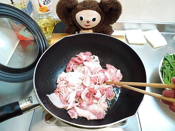 豚玉ニラ炒めの作り方1