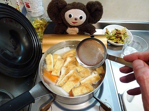 紅鮭の粕汁作り方3