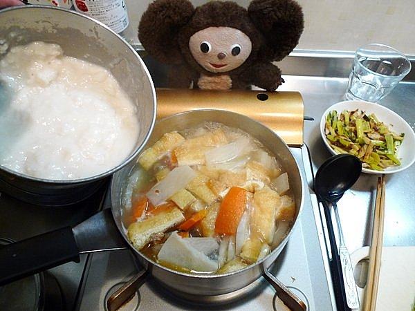 紅鮭の粕汁作り方4