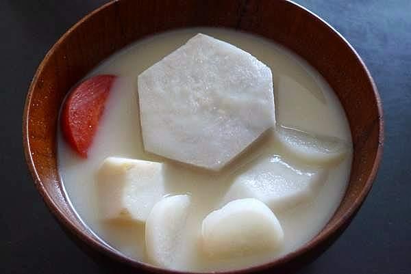 京風 雑煮 白味噌