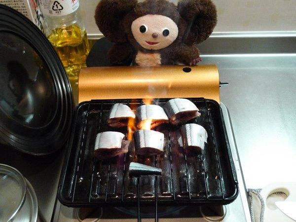 サンマの炊き込みご飯の作り方(1)