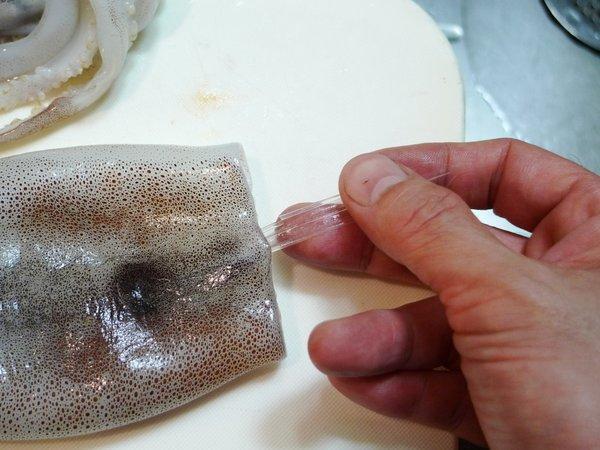 イカの捌き方(2)