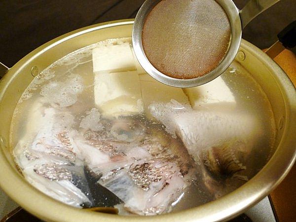 鯛の湯豆腐の作り方(3)