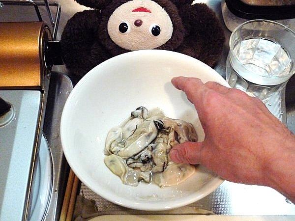 カキとニラのオイスターソース炒め作り方