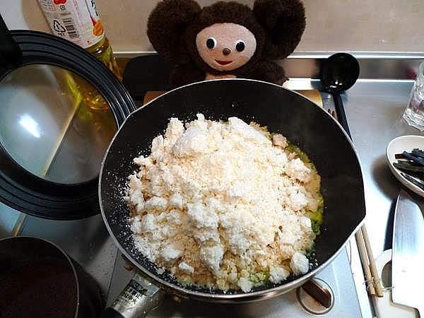ブリ煮汁のおから 作り方