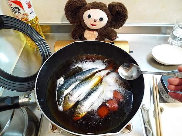 イワシ梅煮 作り方