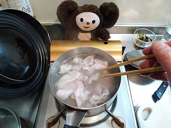 豚肉の湯豆腐 作り方