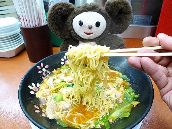 餃子の王将1号店 辛玉ラーメン