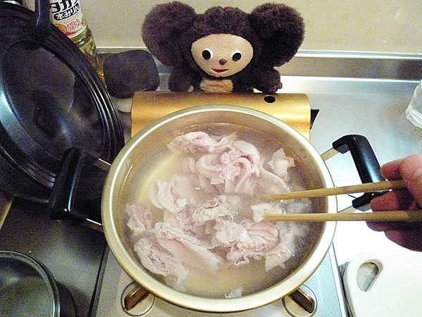 野菜がすんごい一杯入っている豚の吸物 作り方