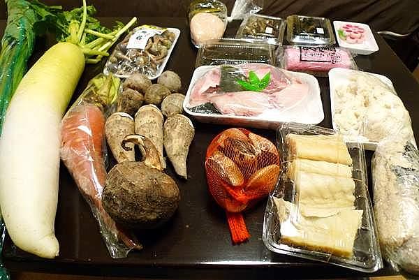 正月料理の準備を始めているのである