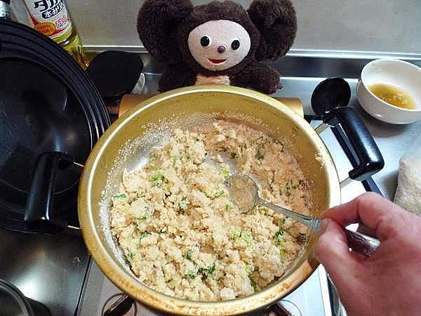 ブリ大根の残った煮汁でおからを炊く