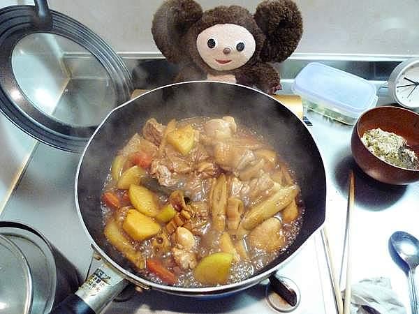 鶏のみそ煮込み 作り方