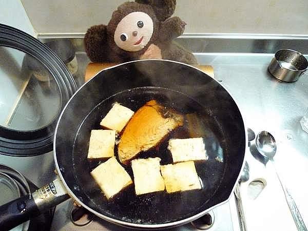 生節と豆腐の炊き合わせ 作り方