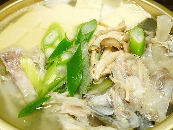 タラの湯豆腐