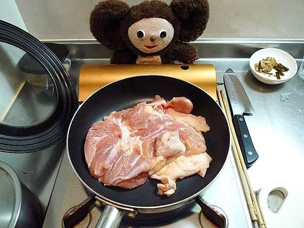 鶏モモ塩焼き 作り方