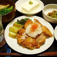 鶏モモ塩焼き