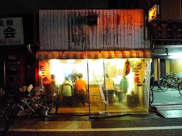 たこ焼き屋「壺味(つぼみ)」