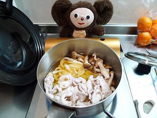 豚肉のうどん 作り方
