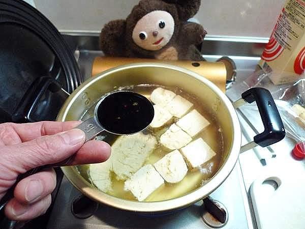 生節と豆腐の煮物 作り方