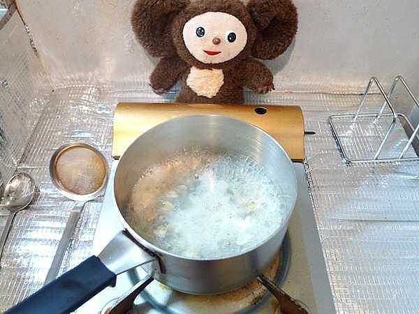身しじみ甘辛煮 作り方