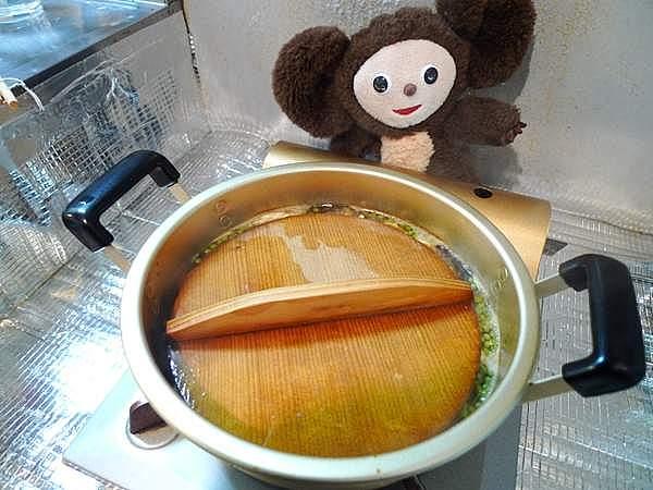 イワシ山椒煮 作り方
