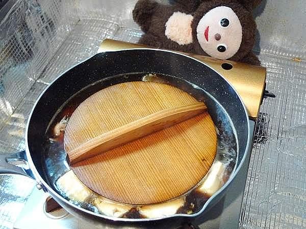 子持ちカレイ煮つけ 作り方