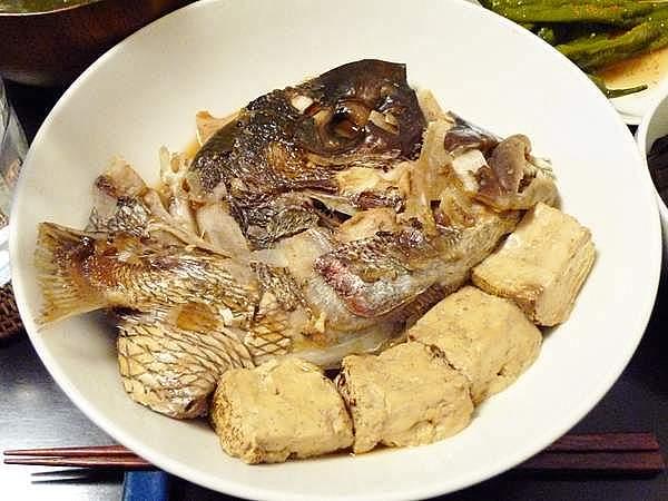 鯛のあら炊き