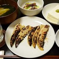 焼きタケノコ、若竹汁