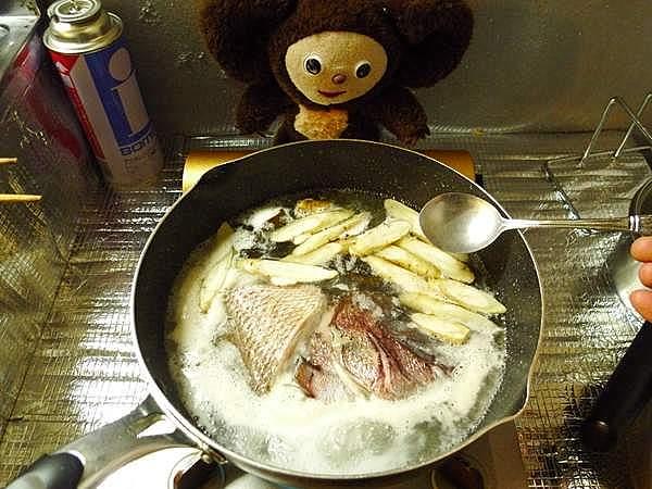 鯛の煮付 作り方