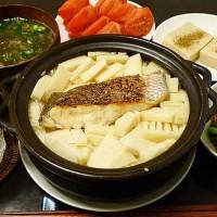 鯛とタケノコのご飯