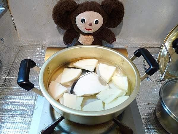 生節の若竹煮 作り方