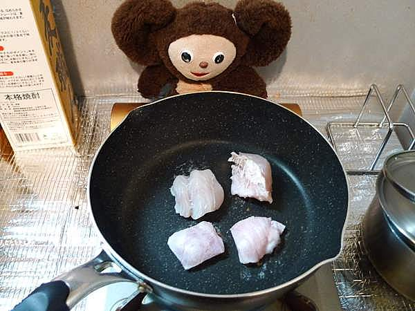 スズキとたけのこの炊き込みご飯 作り方