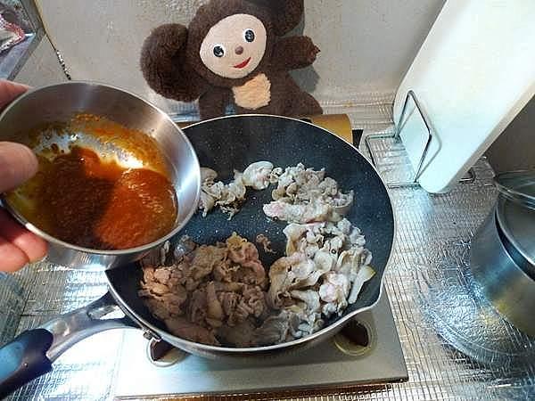 春キャベツと豚肉のみそ炒め 作り方