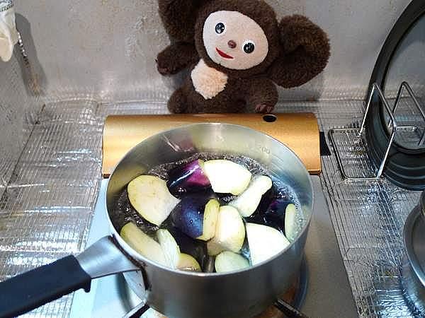 にしんとナスの炊合せ 作り方