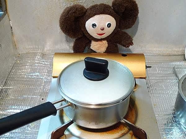 白飯を鍋で炊くやり方