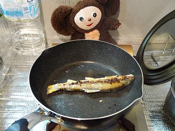 鮎の塩焼き 作り方