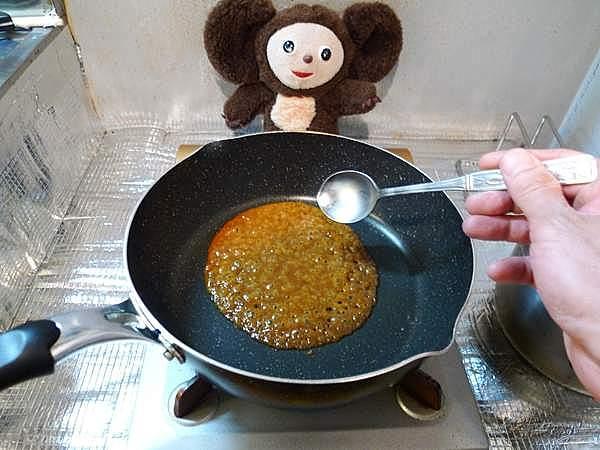 イカワタみそ炒め 作り方