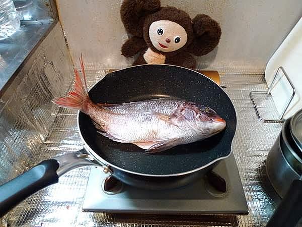鯛とタケノコの炊き込みご飯