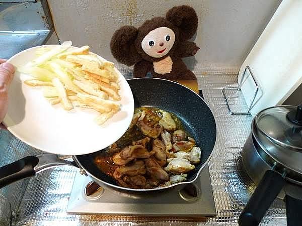 鶏とセロリの塩炒め 作り方