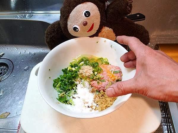 豚のつくね 作り方