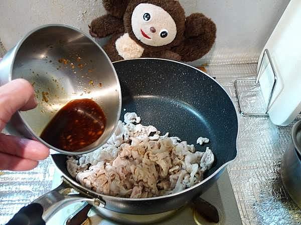 豚ネギ炒め 作り方