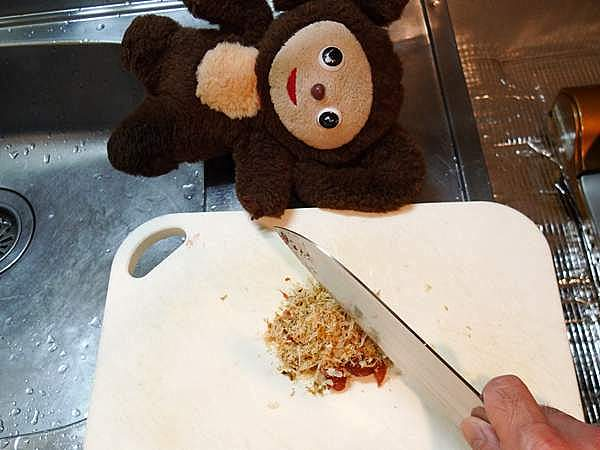 鶏とキャベツ蒸し梅ダレがけ 作り方