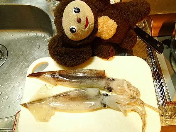 スルメイカと大根の煮付け 作り方