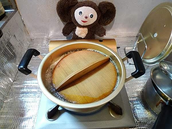 カラスガレイの煮付け