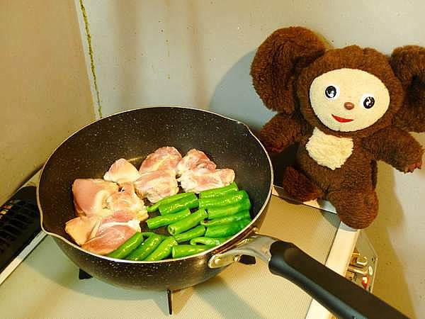 チキンとトマトのさっぱり焼き 作り方