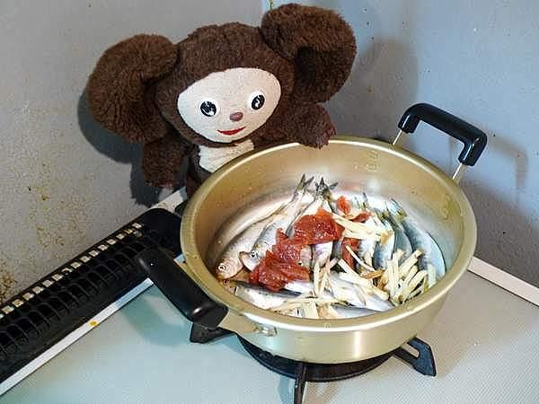 檀流イワシの煮付け 作り方